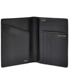 Fossil Travel RFID Passport Wallet - Handbags & Accessories - Macy's