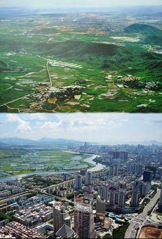 Then And Now: 20 Skylines From Around The World