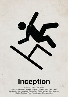 pictogram movie posters, starring only the helvetica man
