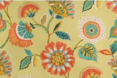 Mill Creek Woodcourt Printed Poly Outdoor Fabric in Grasshopper $5.95 per yard