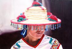 ARTE HUICHOL  Cesar Plascencia´s photorealistic work portrays Mexico in a majestic manner. His art is full of texture, color and life. If you sometime wonder what your life could be in this country, it would be enough to take a glance at one of Cesar´s paintings to find out