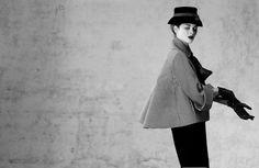 Veste paletot Aventure en pied de poule et manche 3/4, printemps-été 1948, Dior.
