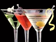 """Martinis.  After reading this restaurants """"if you don't drink your 3 martini lunch, you can get a coupon to redeem them within 30 days.""""  Heck yeah!"""