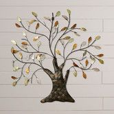 Found it at Wayfair - Nadia Tree & Leaves Wall Décor