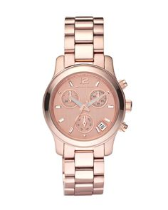 someone should purchase me this rose gold Michael khors watch lol