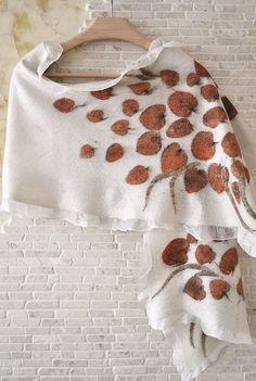 Seda sentía el Eco de la bufanda impresa con flores por ShellenD