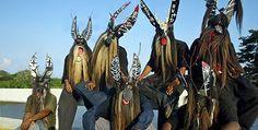 Danza de los Diablos. Las danzas negras de Guerrero  México Desconocido.