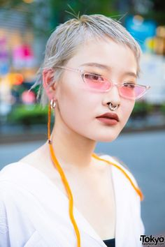 Harajuku Street Style w/ Gallerie Tokyo, Wide Leg Pants, Faith Tokyo Square Toe Boots & Kinji Clutch (Tokyo Fashion News) Tokyo Fashion, Harajuku Fashion, Fashion News, Harajuku Style, Street Fashion, All White Outfit, White Outfits, Amazing Street Art, Square Toe Boots