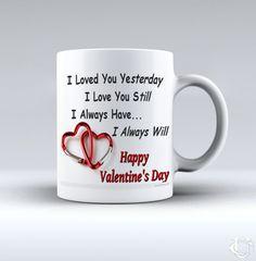 Sell Valentine Im in love you White Mug