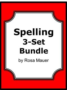 Spelling Bundle:Save 20% when buying the spelling bundle compared to the 3 individual spelling products. Each of the 3 spelling sets focus on 30 words that are often misspelled. You get 90 spelling task cards inall. On each card there is a sentence with a word missing. Students are to write the word from the two choices that is spelled correctly. The sentence and unique picture on each card may help students understand the correct spelling in some cases.