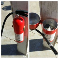 Found at a fire station in the Texas panhandle.