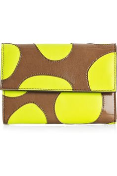 Marni Polka-dot leather wallet