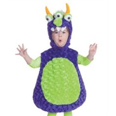Toddler Girls Boys Triclops Monster Alien Halloween Costume - product - Product Review