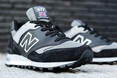 "New Balance 577 ""Carbon Fiber"" Black/Grey"