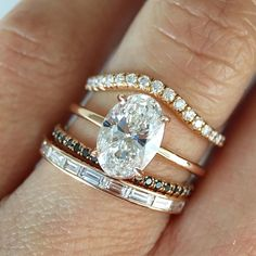Really like the plain band. engagement ring and wedding band Really like the plain band. engagement ring and wedding band Wedding Band Sets, Diamond Wedding Rings, Diamond Rings, Bridal Rings, Mismatched Wedding Bands, Emerald Cut Wedding Band, Baguette Diamond Wedding Band, Stackable Wedding Bands, Solitaire Rings