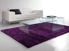 Mesa Centro Combi   Material: Cristal   Material: Crital Doblado.Color: Transparente o Negro... Desde Eur:240 / $319.2