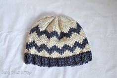 baby boy chevron hat