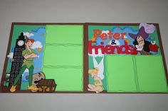 Peter Pan and Friends 12 x 12 Double Page by PaperCraftsByViolet