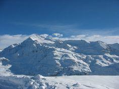 Santa Caterina Valfurva Il monte Tresero