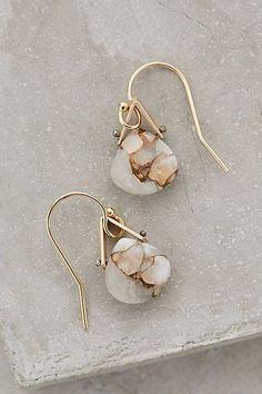 Petite Mineral Earrings #anthropologie