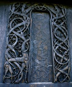 Celtic doorway