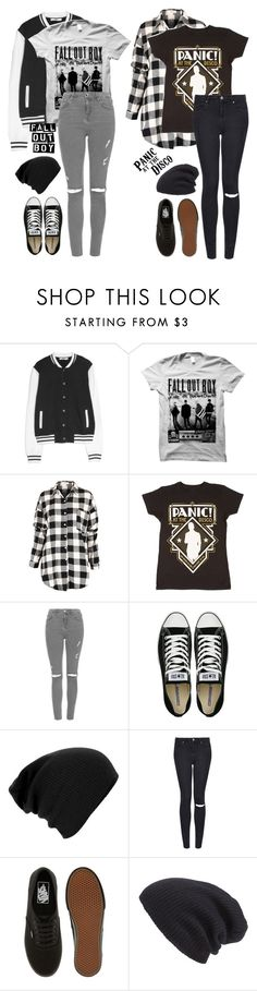 A fashion look from October 2015 featuring button-down shirts, varsity jacket and ripped skinny jeans. Mix Match Outfits, Scene Outfits, Cute Emo, Cheap Fashion, Everyday Outfits, Personal Style, Mango, Topshop, Converse
