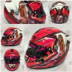 "36 mentions J'aime, 1 commentaires - Noah Ennis (@shellshockco) sur Instagram : ""@max17m new Playboy themed helmet for the 2017 season...need i say any more?!? #shellshock…"""