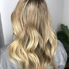 || BLONDE WAVES✔️|| Colour and styling done by @amielynnhair