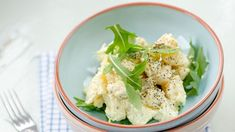 Perunasalaatti - Reseptit - MTVuutiset.fi Cauliflower, Cabbage, Salad, Vegetables, Food, Cauliflowers, Essen, Cabbages, Salads
