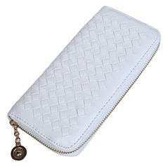 New Trending Purses: Vivoice Woven Leather Women Wallet Clutch Purse Organizer Wallet Bag with Zipper for Credit Card Cash (white). Vivoice Woven Leather Women Wallet Clutch Purse Organizer Wallet Bag with Zipper for Credit Card Cash (white)   Special Offer: $10.99      411 Reviews Wallets Material: Made from high quality Woven Leather metal zipper. Wallets Size: 20x10x3cm(7.87×3.94×1.18in) Leather Wallets...