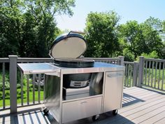 High Quality XL Stainless Big Green Egg Table