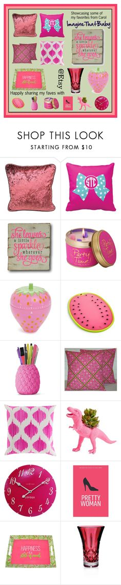 """""""Cute finds"""" by tooterpies ❤ liked on Polyvore featuring interior, interiors, interior design, home, home decor, interior decorating, Lily-Flame, Rice, Martha Stewart and Surya"""