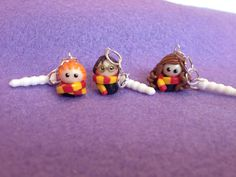 Chibi Cell/Mobile Phone Dangles Harry Potter by CuteChibisandMore, £3.50