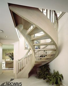 Arcways - custom curved, circular and spiral stair designer and fabricator. Nationally recognized for the past 50 years. Curved Staircase, Staircase Design, Stairs, Photography, Home Decor, Staircase Ideas, Spiral Stair, Stairway, Photograph