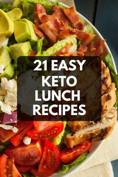 Fabulous collection of keto lunch ideas that make sticking to the ketogenic diet easy. These low carb lunch recipes are perfect for work Diet Lunch Ideas, Lunch Recipes, Low Carb Recipes, Chili Recipes, Free Recipes, Easy Recipes, Dinner Recipes, Clean Eating Recipes For Weight Loss, Clean Eating Meal Plan