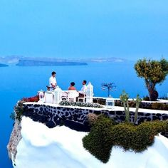 Luxury Dining in Santorini