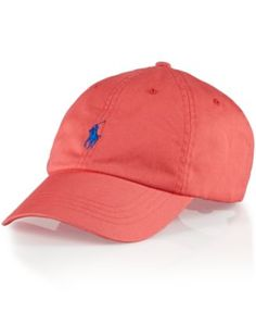 Polo Ralph Lauren Classic Chino Sports Cap in BLUE