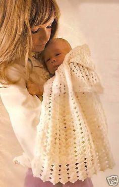 Free Snowflake Hooded Cape Baby Crochet Pattern