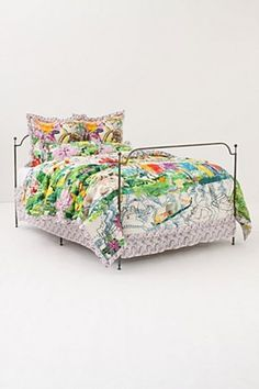 Anthropologie comforters are so cute. If I could afford it, I would love this print.