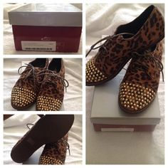 "Selling this ""Breckelle's Leopard Oxford Flats"" in my Poshmark closet! My username is: _theechanel. #shopmycloset #poshmark #fashion #shopping #style #forsale #Breckelles #Shoes"