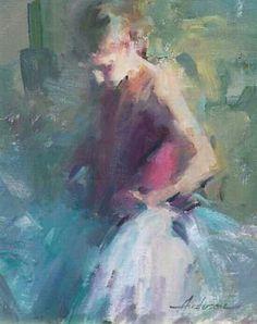 Artist: Carolyn Anderson, oil on canvas {figurative art female… Paintings I Love, Beautiful Paintings, Figure Painting, Painting & Drawing, Ballet Art, Virtual Art, Impressionist Paintings, Art Academy, Art Archive