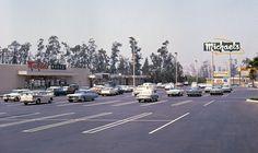 Orange County California, California Dreamin', California Restaurants, Nostalgic Images, Orange City, California History, Huntington Beach, Shopping Center, Historical Photos