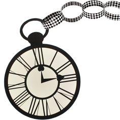 Alice in Wonderland Pocket Watch Activity