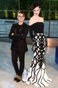 Coco Rocha and Christian Siriano CFDA Fashion Awards Couture Fashion, Runway Fashion, Fashion Models, Fashion Designers, Event Dresses, Nice Dresses, Celebrity Outfits, Celebrity Style, Fashion Competition
