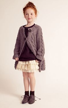 Cozy knits are what every fall outfit requires #Kids #Fashion #WeLove  http://www.devlishangelz.ca/