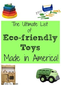 20 Great Eco Friendly Toys For Toddlers Toys Gift Guide
