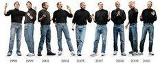 NORMCORE: Los nuevos iconos de la moda normcore se convierten Jerry Seinfeld (y sus apariciones en la serie Seinfeld), Barack Obama (cuando no lleva traje) y Steve Jobs (con el uniforme que llevaba en sus últimos años).Llevan ropa que no destaca en ningún lugar.