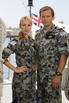 Captain Mike and X Kate. Sea Patrol, 10 Years Later, Favorite Tv Shows, Movie Tv, Fangirl, Lisa, It Cast, Hero, Couples