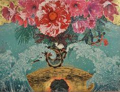 Kyosuke Tchinai's Surreal Paintings on Washi Paper | Hi-Fructose Magazine