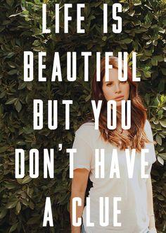 Lana Del Rey #LDR #lyrics #Black_Beauty